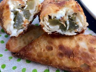 Cream Cheese Stuffed Fried Pickles!