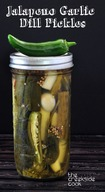 Jalapeno Garlic Dill Pickles!