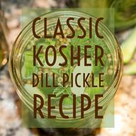 Ultimate Classic Kosher Dills!
