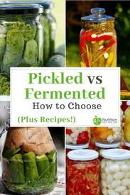 Pickled Versu Fermented?