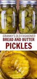 Granny's Bread & Butter Pickles!
