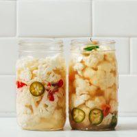 Spicy Pickled Cauliflower!