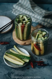 Chinese Pickled Cucumber!