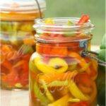 Sweet Pickled Peppers!