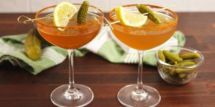 Pickle Whiskey Sours!
