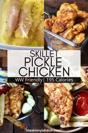 Skillet Pickle Chicken!