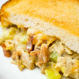 Dill Pickle Grilled Cheese Casserole!