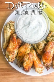 Dill Pickle Chicken Wings!