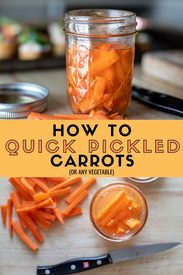 Quick Pickled Carrots!