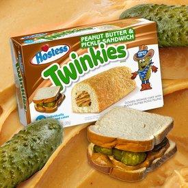 Peanut Butter & Pickle Twinkies!