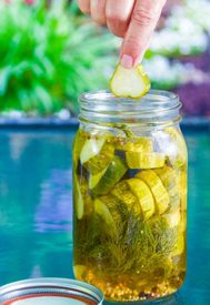 Quick Jalapeno Dill Pickles!