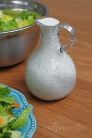 Pickle Juice Ranch Dressing!