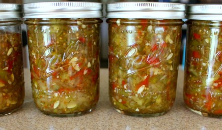 Sweet Pickle Relish!