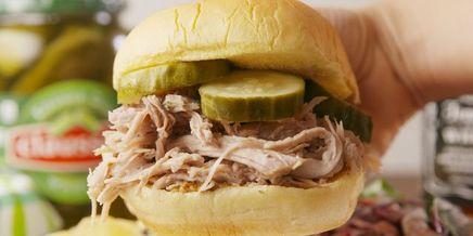 Pickleback Pulled Pork!