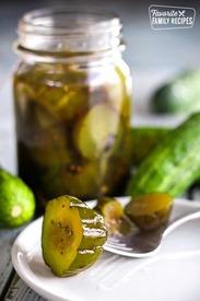 Virginia Chunk Sweet Pickles!