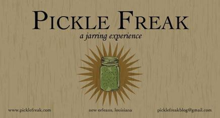 Pickle Freak Giveaway