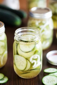 Amish Refrigerator Pickles!