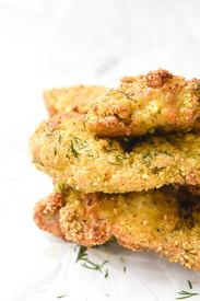 Crispy Dill Pickle Chicken!