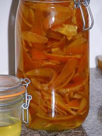 Pickled Orange Peel!