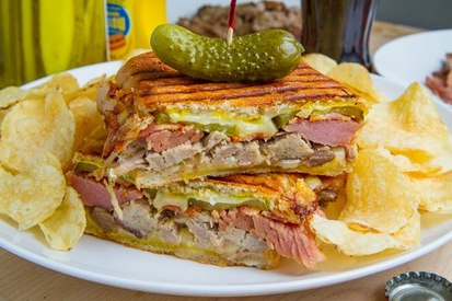 Cuban Sandwich With Pickles!