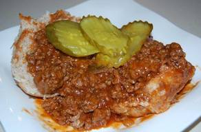 Sloppy Pickle Joes!