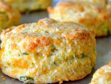 Pickle & Cheddar Buttermilk Biscuits!