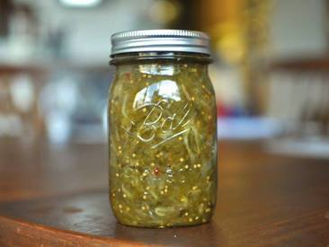 Sweet & Spicy Pickle Relish!