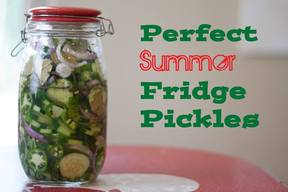 Perfect Summer Pickles!