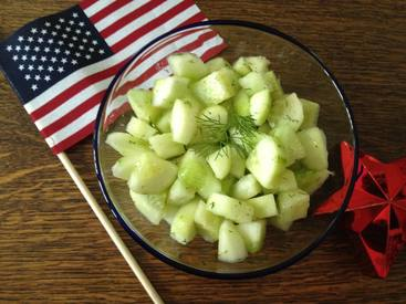 4th Of July Quick Pickles!