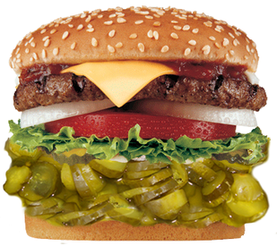Pickle Burger!