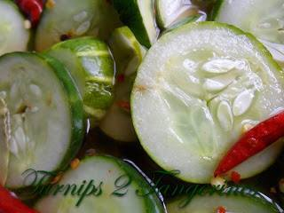 Spicy Refrigerator Pickles!
