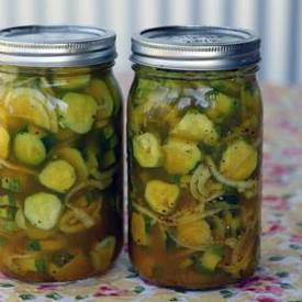 Sweet N Tangy Fridge Pickles!