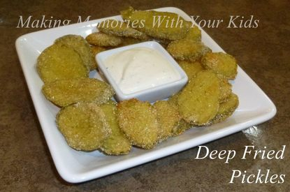 Deep Fried Pickles!