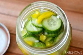 Favorite Homemade Sandwich Pickles!