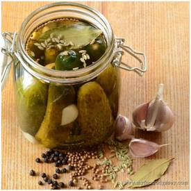 Homemade Quick Pickles!