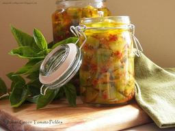 Italian Green Tomato Pickles!