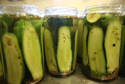 Sour Dill Pickles!