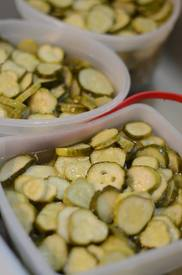 Gram's Refridgerator Pickles!