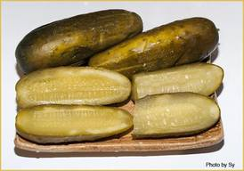 Shlomo's Kosher Sour Pickles!