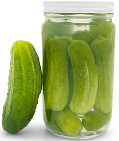 The Edible Pickle Cocktail!