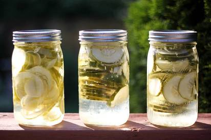 Homemade Pickles!