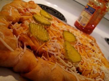 Stuffalo Crust Pickle Pizza!