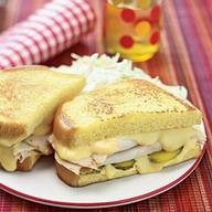 Grilled Cheese Pickles & Turkey!
