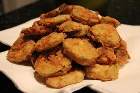 Momma's Easy Fried Pickles!