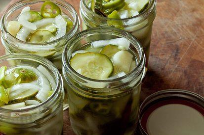 Freezer Pickles!