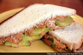 Pickles & Pb Sandwich!