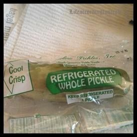 Bagged Pickles!