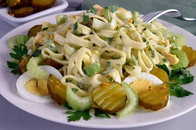 Sweet Pickle Pasta!