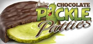 Chocolate Pickle Patties!
