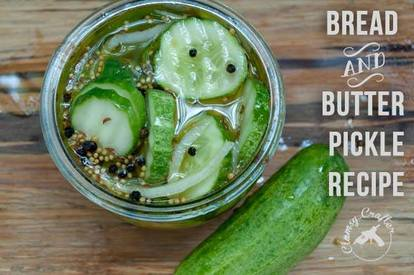 Easy Bread & Butter Pickles!